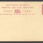 1885 Penny Halfpenny Foreign Postal Card