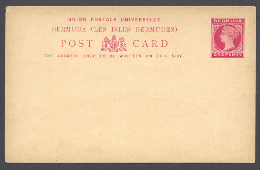 1893 HG9 1d Foreign Rate Post Card