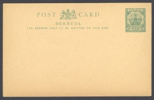 1903 ½d Dock Issue Postal Card Inland Rate