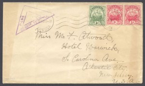 1914 First World War Censor Cover
