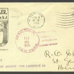 1925 Airmail by Airship Los Angeles from Lakehurst NJ