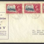 1935 King George V Silver Jubilee 3x1d FDC