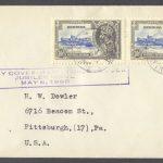 1935 King George V Silver Jubilee FDC