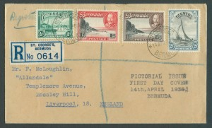 1936 KGV Pictorial Issue FDC