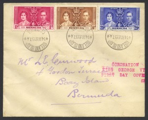 1937 Coronation King George VI fdc