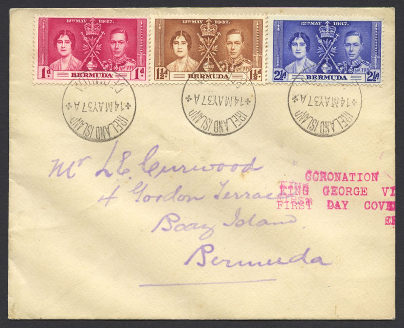 1937 Coronation King George VI fdc