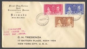 1937 George VI Coronation FDC