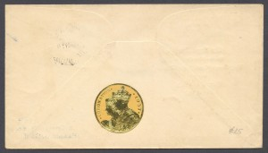1937 Royal Navy Coronation rev FDC