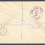 1937 Cavalier Bermuda to New York 1sch reg reverse First Flight