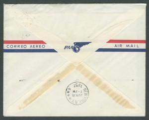 1937 Cavalier Bermuda to New York First Flight - Reverse