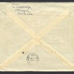 1937 RMA Cavalier First Flight Bermuda New York reverse FF
