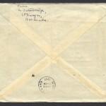 1937 RMA Cavalier First Flight Bermuda New York reverse FF