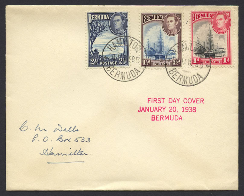 1941 King George VI Pictorials FDC