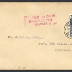 1938 King George VI 2½d Pictorial FDC