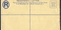 1938 C6a Registered Envelope PS
