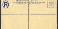 1938 C6a Registered Envelope PS