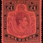 1938 £1 Key Plate Type SG121
