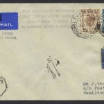 1939 Pan Am First Transatlantic Airmail Southern Route FF
