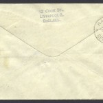 1939 Pan Am First Transatlantic Airmail Southern Route reverse FF