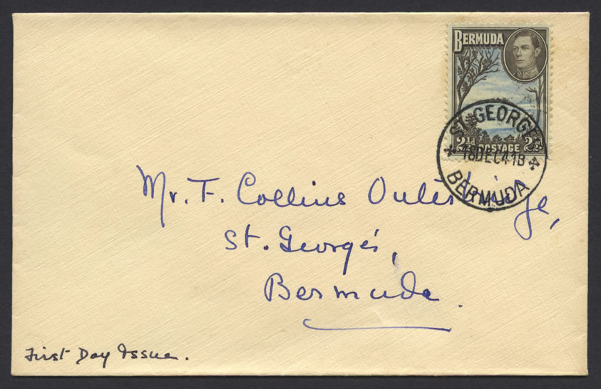 King George VI 2½d Pictorial FDC