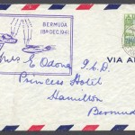 1941 Seven and Half-Penny KGVI Pictorial Airmail FDC