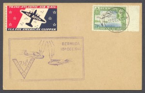 1941 Seven and Half-Penny KGVI Pictorial Postcard FDC