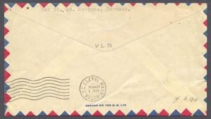 1947 Colonial Airlines Inaugural Flight Washington DC rev FF