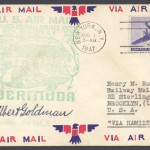 1947 FAM33 Colonial Airlines New York to Bermuda FF