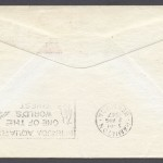 1947 FAM33 Colonial Airlines Washington to Bermuda reverse FF