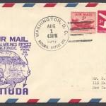 1947 FAM 33 Washington DC to Bermuda FF