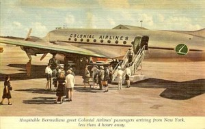 Colonial Airlines in Bermuda