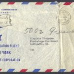 BOAC First Speedbird Constellation Flight Bermuda to New York