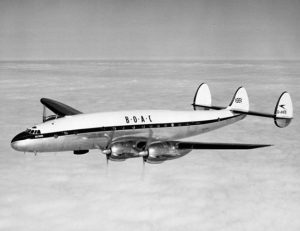 Lockheed L-049 Constellation G-AHEN Bermuda