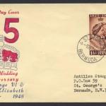 1948 Silver Wedding Omnibus FDC