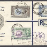 1949 Perot Centenary Registered FDC