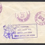 1949 Perot Centenary reverse FDC