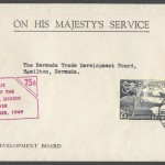 1949 75th Anniversary Universal Postal Union OHMS FDC