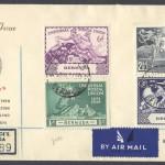 1949 75th Anniversary Universal Postal Union FDC