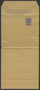 1953 QEII Newspaper Wrapper 2d E-9 #13