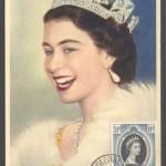 1953 Queen Elizabeth II Coronation Postcard FDC