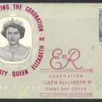 1953 Queen Elizabeth II Coronation omnibus FDC