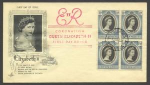 1953 Queen Elizabeth II Coronation FDC