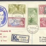 1953 QEII Issue Definitive FDC