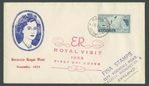 1953 Royal Visit First Day Cover