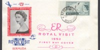 1953 Royal Visit Three Arrows FDC