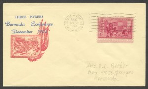 1953 Bermuda Conference Army Air Force 856