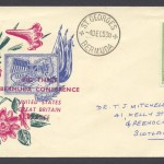 1953 Big Three Bermuda Conference Commemorative Cover
