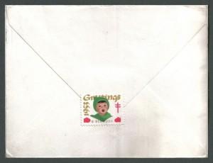 1953 Bermuda Conference Cachet Commemorative reverse Cover