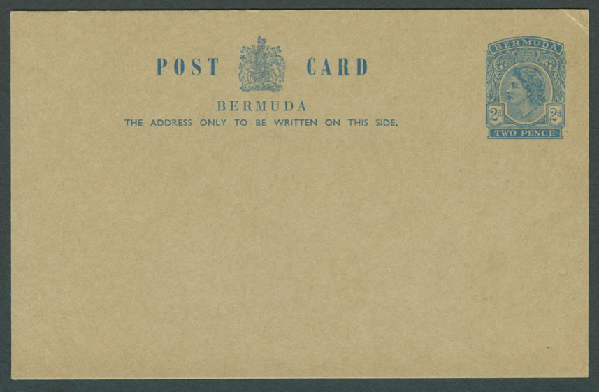 1956 Queen Elizabeth 2d Post Card