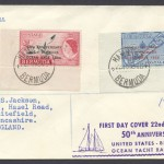1956 50th Anniversary Ocean Yacht Race FDC